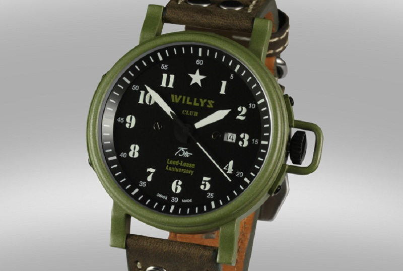 Willys Club collection automatic wrist willys watches
